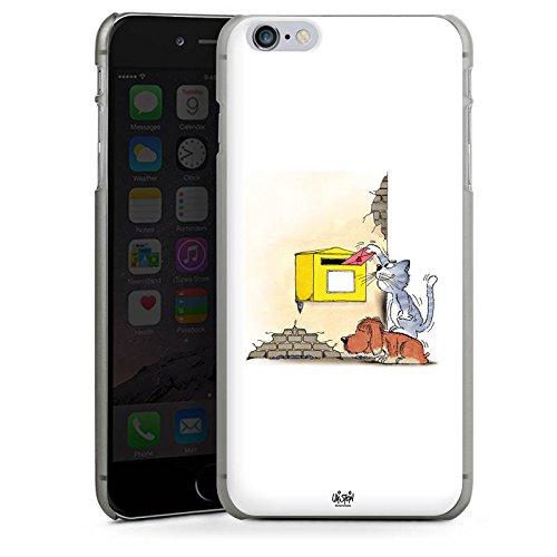 Apple iPhone X Silikon Hülle Case Schutzhülle Uli Stein Fanartikel Merchandise Cartoons Hard Case anthrazit-klar