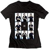 LianJian Cristiano Ronaldo CR7 Real Madrid Women's T-Shirt Black Womens S