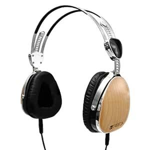 Tribeca Genuine Wood Aviator Headphones, Maple