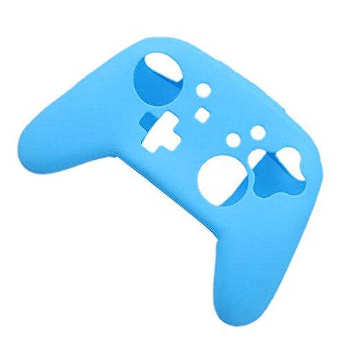 Preisvergleich Produktbild Gazechimp 1x Weiche Silikon Schutzhülle Staubdicht für Nintendo Switch Pro Controller - Blau
