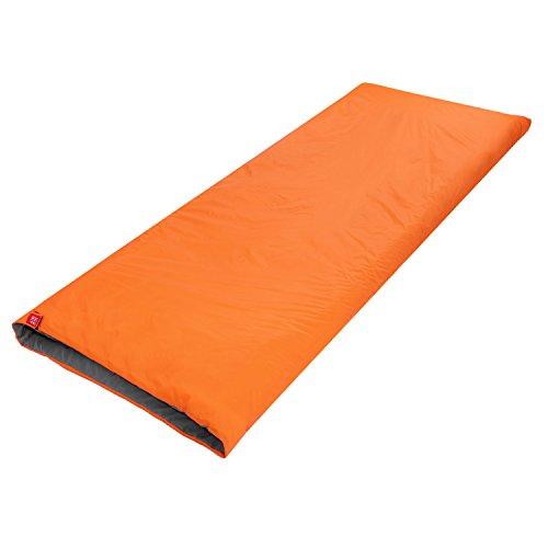 OUTAD Umschlag im Freien Schlafsack Camping Reise Wandern Multifunktions -Ultra-light (Orange)