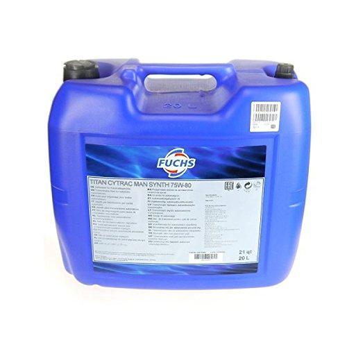 20 litri di olio del cambio FUCHS Titan Cytrac MAN Synth 75W-80 20 L T