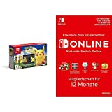 Nintendo Switch Pokémon: Let?s Go, Pikachu! Bundle + Switch Online Mitgliedschaft 12 Monate [Switch Download Code]