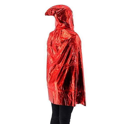 Fancy Dress, Costume Short Adult/Kids Shiny Red ()