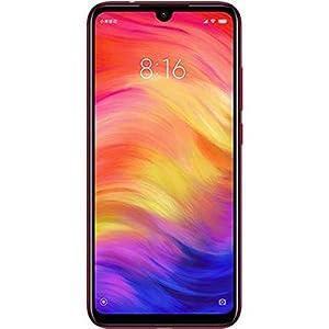 Xiaomi Redmi Note 7 Smartphones de 6.3'' Pantalla Completa, 4GB RAM + 128GB ROM, Snapdragon 660 procesador Octa-Core, 13MP Delantero y 48MP + 5MP Doble cámara Trasera Teléfonos móviles (Nebula Rojo)