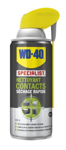 WD-40 Specialist Nettoyant Contacts Aérosol Double Position 400ml
