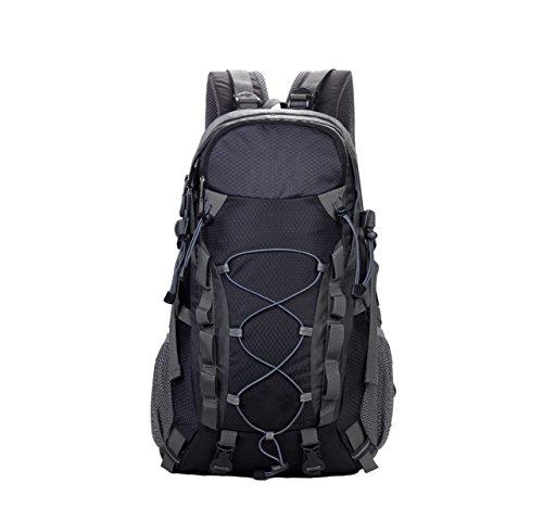 OGERT Moda Sport Corsa Esterna Di Alpinismo Zaino,Black Black