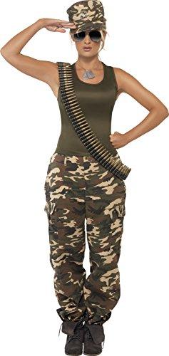 Imagen de smiffy's  disfraz de rambo para mujer, talla m 35457m  alternativa