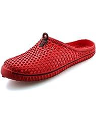SAGUARO® Unisex Jardín Clog Zapatos deslizadores de las sandalias del verano
