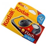 Kodak FUNFLASH/39 Appareil photo jetable avec flash 27+12 poses