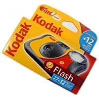 Kodak FUNFLASH/39 Appareil photo jetable avec flash 27+12 poses
