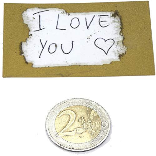 8 etichette adesive gratta e vinci dorate grandi 58 mm x 35 mm con fondo trasparente pvc per coprire una scritta - facile da grattare per gratta e vinci matrimonio o regalo san valentino (oro)