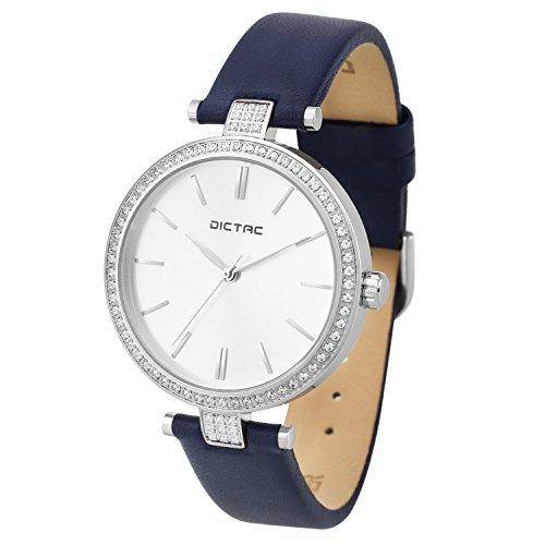 dictac-femme-montre-a-quartz-analog-cristal-cadran-bracelet-pu-cuir-impermeable-bleu-marine