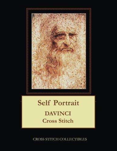 Self Portrait: Leonardo DaVinci Cross Stitch Pattern -