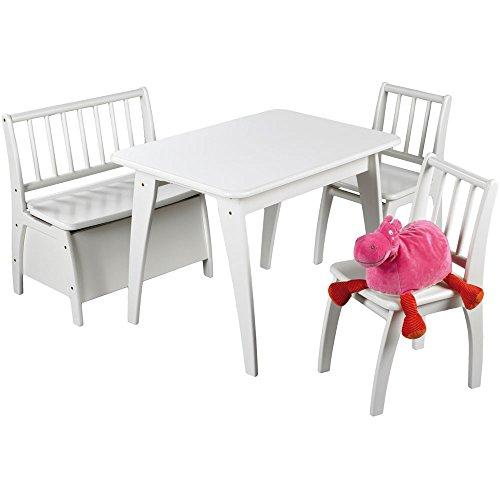Preisvergleich Produktbild Geuther Bambino Kindersitzgruppe 4-teilig, weiss