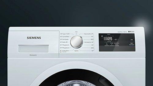 Siemens iQ300 WM14N040 Waschmaschine / 6,00 kg / A+++ / 137 kWh / 1.400 U/min / Schnellwaschprogramm / Nachlegefunktion / aquaStop mit lebenslanger Garantie / - 6