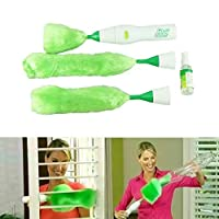 Payonr Home Helper Cleaning Brush,Electric Multifunctional Dust Cleaning Brush Electric Feather Duster Chrismas Tools Green