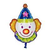 TOYMYTOY Palloncino Mylar Partito palloncini Clown per bambini (blu)