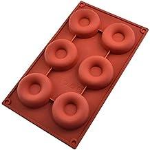 Donut molde herramienta-Donut molde cortador-torta de silicona molde de decoración de las