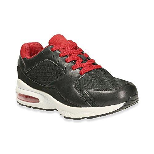 Mulheres Sapatilha Sapatos Desportivos Correndo Corredores De Lazer De Fitness Sapatos Baixos Preto