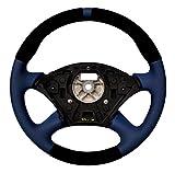 Autofun Extreme - Volante con Rivestimento in Vera Pelle, Adatto per Focus MK1