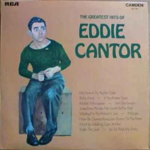 Greatest Hits Of - Eddie Cantor LP Rca Vcr Vcr Combo