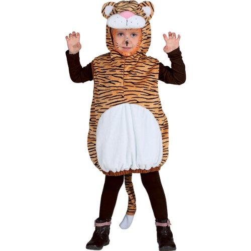 WOOOOZY Kleinkind-Kostüm Weste Tiger, Gr. - Tiger Kostüm Kleinkind