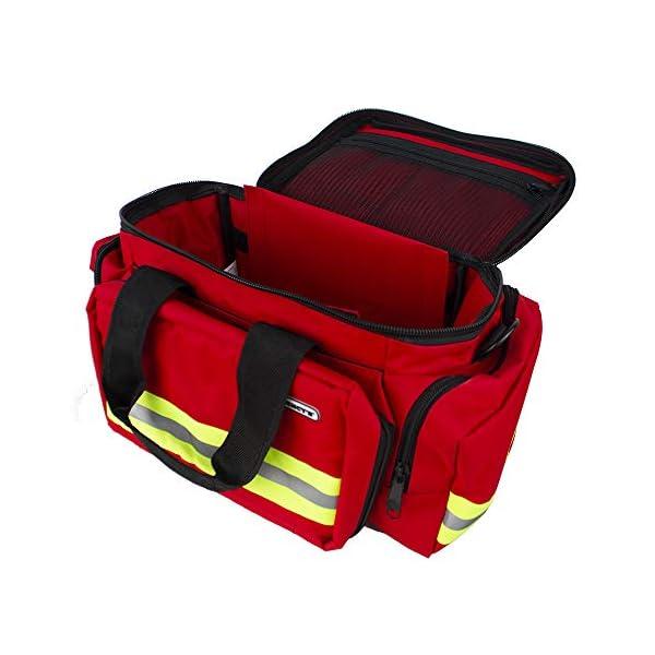 Bolsa Ligera para emergencias | roja | Elite bags 6