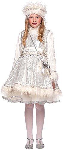 Fancy Me Italienische Herstellung Baby &ältere Mädchen Prestige Deluxe Eskimo aus Aller Welt Karneval Halloween Kostüm Kleid Outfit 0-12 Jahre - 8 Years (Kostüme Aus Aller Welt)