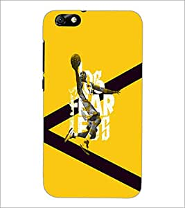 PrintDhaba Football D-5950 Back Case Cover for HUAWEI HONOR 4X (Multi-Coloured)