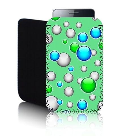 Biz-E-Bee Étui ToyPost BUBBLES Green G5 (P5) IPOD SHUFFLE-Tec Étui en néoprène antichoc pour Pochette