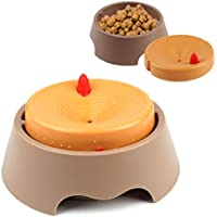 RCruning-EU Comederos Perros Gatos Mascotas Plástico Water Bowl for Dogs and Cats Pet