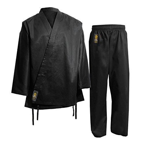 Daimyo Hapkido Dan Uniforme, Hombre, Negro, 2 (150 cm)