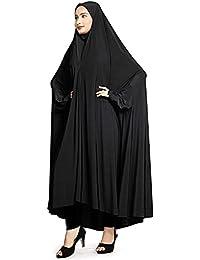 Hijabbo Imported Lycra Basic Lantern Full Sleeve Rida For Girls and Women