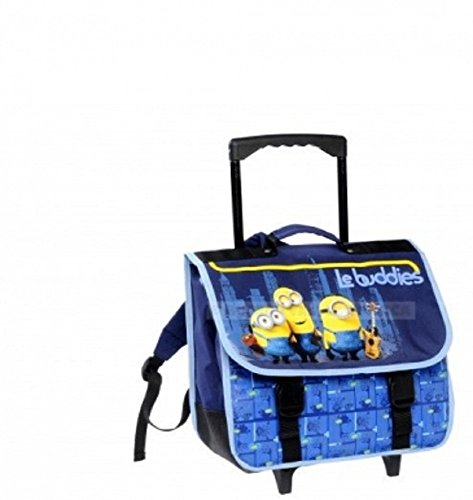 Cartable roulettes minions Le Buddies