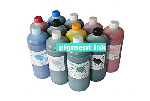 Gowe 5500ml Set Pigment Tinte für Epson Stylus PRO4900Wide Format Drucker Nachfülltinte