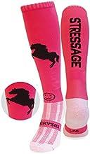 WackySox Stressage frambuesa equitación deportes calcetines