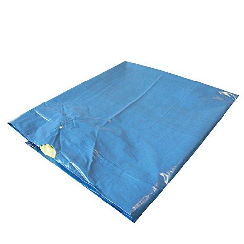 Abfallsack mit Zugband 120 l blau 50 Stück