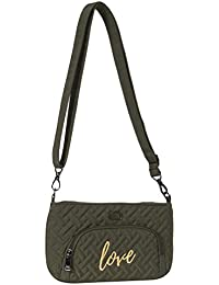 Lug Flyer Mini Cross-body Bag, Olive Green Cross Body Bag