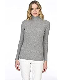 wholesale dealer 432b2 e9b17 Amazon.it: Maglioni Dolcevita In Cashmere - Donna: Abbigliamento