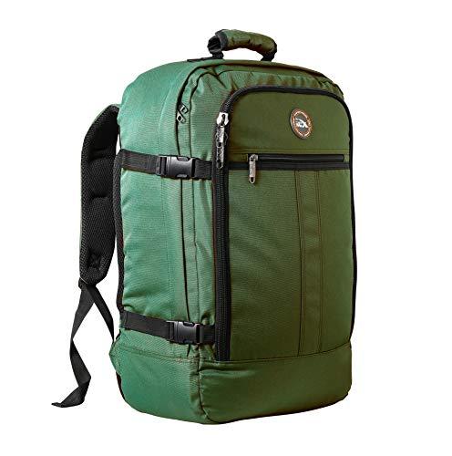 ab7f93b79f Cabin Max Metz Zainetto bagaglio a mano/da cabina, 44 litri, dimensioni  approvate 55x40x20 cm su voli IATA (Cacciatore verde)