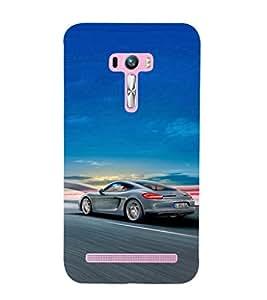 EPICCASE Porsche car Mobile Back Case Cover For Asus Zenfone Selfie (Designer Case)