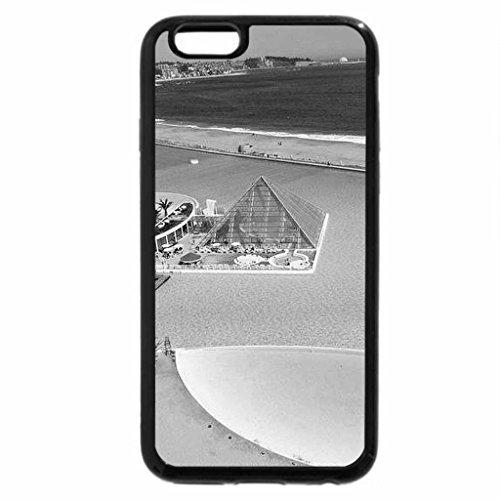 iPhone 6S Plus Case, iPhone 6 Plus Case (Black & White) - San Alfonso Del Mar resort (Del Resort Mar)