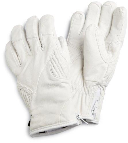 Spyder Damen Rage Leder Gore-Tex Handschuh, damen, weiß