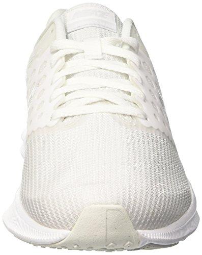 Nike Herren Downshifter 7 Laufschuhe Elfenbein (White/pure Platinum)