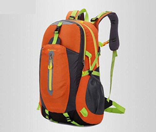 Outdoor Bergsteigen Rucksack Casual Sport Schulter Tasche Orange