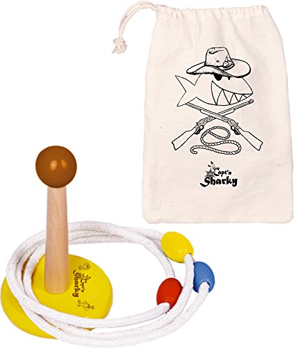 Anillo-Toss-juego-Capt-n-Sharky