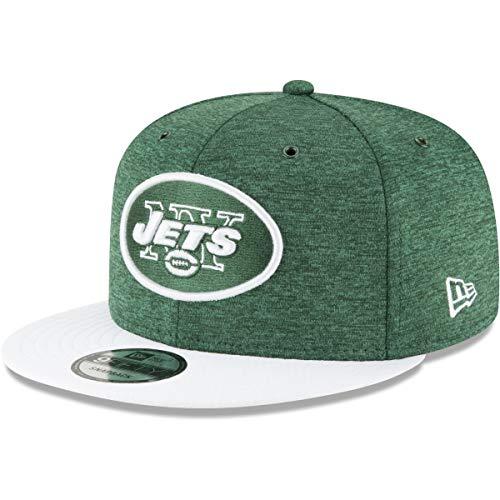 867702750e215 New Era NFL New York Jets Authentic 2018 Sideline 9FIFTY Snapback Home Cap,  Größe