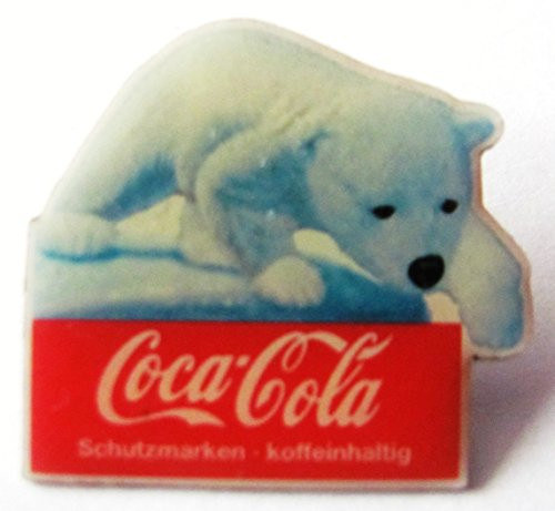 Coca-Cola - Eisbär Kind - Pin 30 x 28 (Coca Cola Kostüme Kinder)