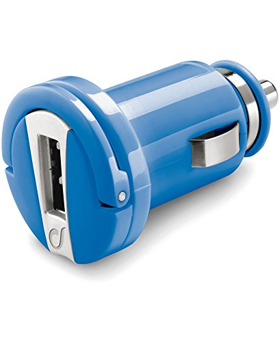 Cellularline MICROCBRUSBB Auto Azul - Cargador